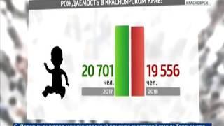 В Красноярском крае продолжает падать численность населения
