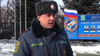 """""""Бой"""" объявили сосулькам УК и мэрия Биробиджана(РИА Биробиджан)"""