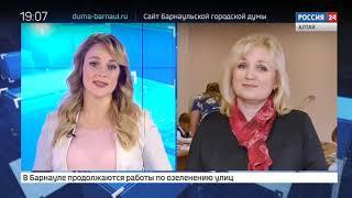 Благоустройство Ленинградской аллеи в Барнауле подходит к концу