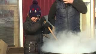 Рязанские мусульмане приготовили сумаляк