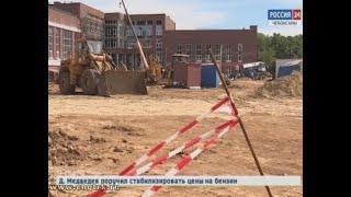 На строительной площадке Кадетского корпуса погиб водитель КАМАЗа