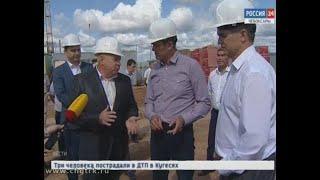 Глава Чувашии Михаил Игнатьев проинспектировал строительство новой школы в микрорайоне  «Волжский-3»