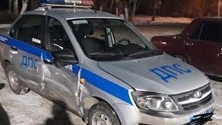 В Ичалковском районе участником аварии стала патрульная машина Госавтоинспекции