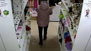 Попытка кражи из воронежского магазина