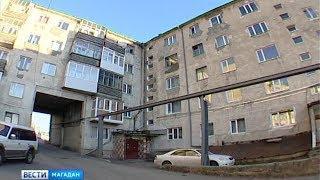Избавиться от плесени в подъезде жильцам помогла Прокуратура Магадана