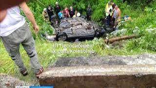 В ДТП под Лесосибирском погибла женщина