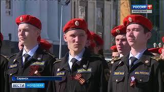 В Саранске прошла репетиция парада ко дню Победы