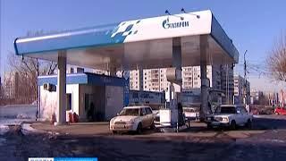 """С красноярского рынка уходят заправки """"Газпром"""""""