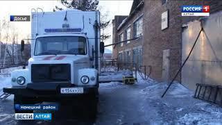 Работы на участках аварийных теплосетей в селе Кусак должны завершиться в течение суток