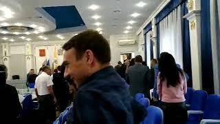 Из Думы Ставропольского края эвакуировали людей