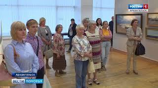 В Архангельском музее ИЗО юбилей судостроения отметили открытием выставки «Уходят в море корабли»