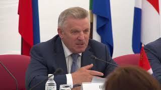 Губернатор Хабаровского края Шпорт выступление ярмарка Наш выбор 27 9 06 2018