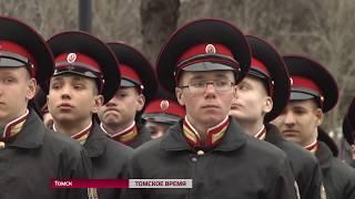В Томске отрепетировали парад Победы