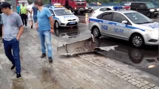 ДТП на Борисовских прудах 2