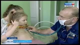 В Астраханской области растет заболеваемость ОРВИ и гриппом