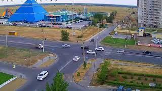 ДТП (авария г. Волжский) пр. Ленина ул. 40 лет Победы 04-07-2018 19-12