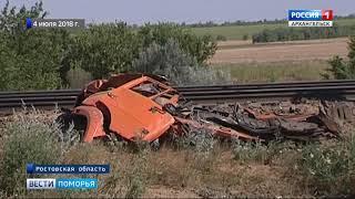 Поезд «Архангельск-Новороссийск» прибыл к пункту назначения с отставанием чуть больше часа