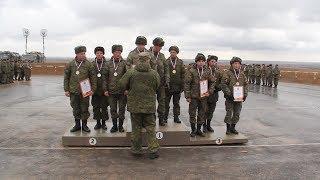 На полигоне Прудбой наградили победителей окружного этапа танкового биатлона