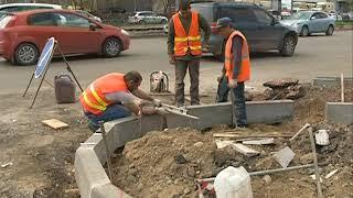 Как проходит ремонт дорог в Красноярске