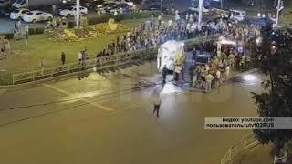 Страшное ДТП произошло накануне поздно вечером в Уфе в Черниковке