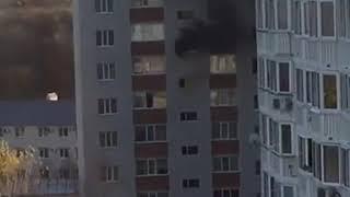 В Ставрополе произошёл пожар в многоэтажке