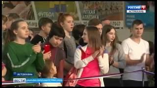 Рекордное по числу участников Первенство по гребле-индор прошло в Астрахани