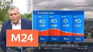"""""""Утро"""": в Москву пришло похолодание - Москва 24"""