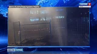 В Перми забил новый коммунальный фонтан