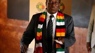 На выборах побеждает Мнангагва