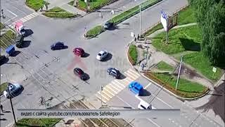 В ДТП в Дзержинском районе чудом никто не пострадал