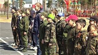 Каникулы строгого режима: в Когалыме работает военно-патриотический лагерь