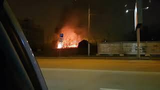 Пожар на Елькина
