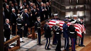 Прощание с Джорджем Бушем-ст.: церемония в Вашингтонском соборе…