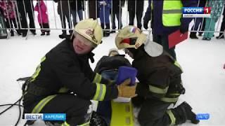 Соревнования МЧС в Костомукше