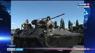 В День воинской славы России пензенский ветеран принял участие в параде в Курске