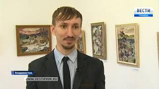 Картины из самоцветов – на выставке в Краевом центре народной культуры