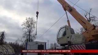 06 12 2018 Ещё 2 торговых ларька снесли в Ижевске