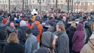 Москва скорбит по КЕМЕРОВО. Трансляция