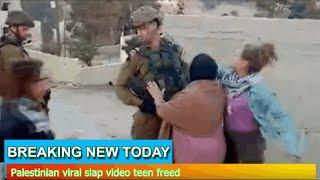 Breaking News - Palestinian viral slap video teen freed