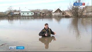 Спасатели МЧС помогают пострадавшим от паводка жителям Тальменки