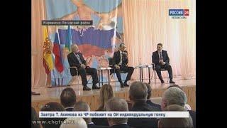 Глава Чувашии Михаил Игнатьев посетил Чебоксарский и Мариинско-Посадский районы