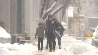 Снегопады в Украине: сплошные пробки, сотни ДТП и отключения света