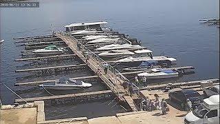 В Волгограде отплытие потерпевшего крушение катамарана попало на видео