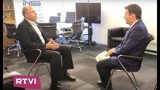 """Моше (Буги) Яалон в эксклюзивном интервью RTVI: """" Сегодня мы умеем разговаривать с Россией""""."""