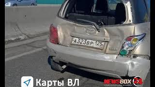 Во Владивостоке нетрезвый виновник ДТП, во время задержания пытался выброситься с балкона 4-го этажа