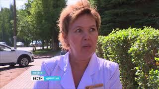 """Дорожники отчитались о ремонте тротуаров в Ижевске по программе """"Безопасные и качественные дороги"""""""
