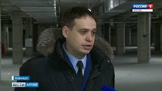 В Барнауле провели проверку строящегося торгового центра