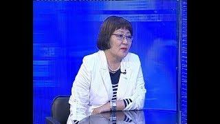 Гость в студии - Директор Педагогического института БГУ, Нина Дагбаева