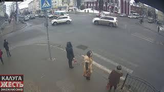 Калуга: кирова-московская ДТП