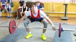 В Березовском прошли соревнования по тяжелой атлетике